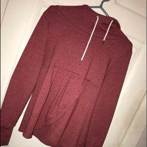 Rose pink girly sweater
